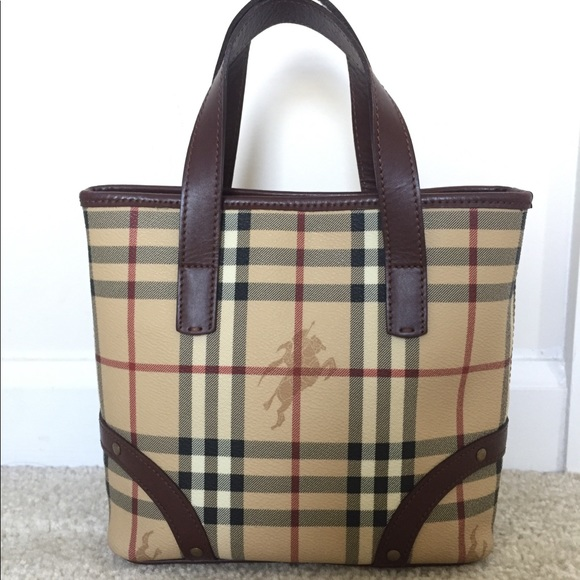 7f1533614b Burberry Handbags - EUC Burberry haymarket check small tote